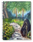 Butterfly Garden At Gumbo Limbo Spiral Notebook