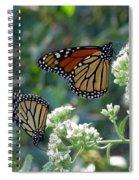 Butterfly Garden - Monarchs 01 Spiral Notebook
