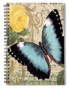 Butterfly Kisses-a Spiral Notebook