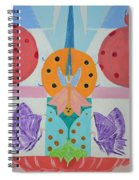 Butterfly Kisses And Ladybug Hugs Spiral Notebook