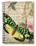 Butterfly Kisses-b Spiral Notebook