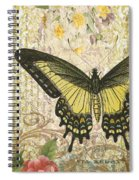 Butterfly Kisses-c Spiral Notebook