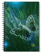 Butterfly Magic By Jrr Spiral Notebook