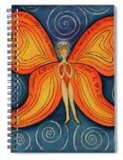 Butterfly Mantra Spiral Notebook