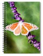 Butterfly - Monarch - Photopower 319 Spiral Notebook