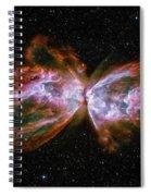 Butterfly Nebula Ngc6302 Spiral Notebook