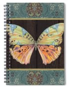 Butterfly Tapsetry-jp2197 Spiral Notebook