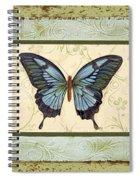 Butterfly Trio-3 Spiral Notebook