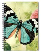 Butterfly Visions-b Spiral Notebook