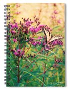 Butterfly Wildflower Spiral Notebook