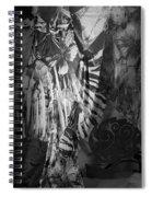 Butterfly Window Spiral Notebook