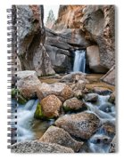 Buttermilks Waterfall Spiral Notebook
