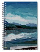 Buttle Lake Spiral Notebook