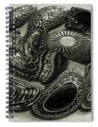Button Dance Spiral Notebook