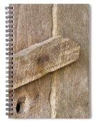 Button Up Spiral Notebook