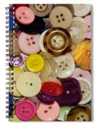 Buttons 667 Spiral Notebook