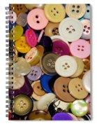 Buttons 671 Spiral Notebook