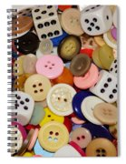Buttons 676 Spiral Notebook