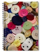Buttons 678 Spiral Notebook