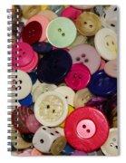 Buttons 680 Spiral Notebook