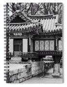Buyongjeong Pavilion In Secret Garden Spiral Notebook