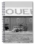 Bw Stovers Farm Market Berrien Springs Michigan Usa Spiral Notebook
