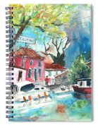 By A French Canal 01 Spiral Notebook