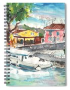 By A French Canal 02 Spiral Notebook