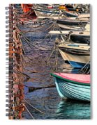 By A Nose Mykonos Greece Spiral Notebook
