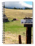 By Appointment Spiral Notebook