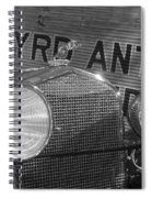 By Land And Air... 30s Style Spiral Notebook
