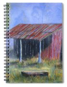 By The Barn Out Back Spiral Notebook