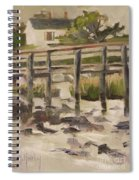 By The Dock Spiral Notebook
