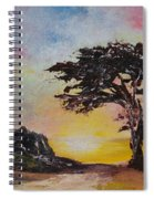 By The Golden Sea Spiral Notebook