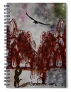 By The Light Of The Silvery Moon Spiral Notebook