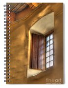 By The Light Of The Window Spiral Notebook