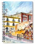 By The Old Cathedral In Cartagena 02 Spiral Notebook