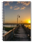 By The Pier Spiral Notebook