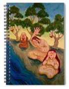 By The Rivers Of Babylon - Psalm 137 Spiral Notebook