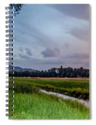 By The Stream Spiral Notebook