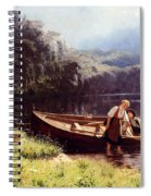 By The Waters Edge Spiral Notebook