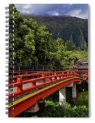 Byodo-in-temple Spiral Notebook