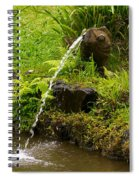 Byodo In Temple Spiral Notebook