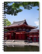 Byodoin Temple - Kyoto Japan Spiral Notebook