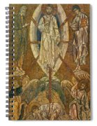 Byzantine Icon Depicting The Transfiguration Spiral Notebook