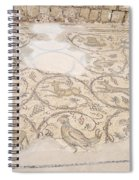 Byzantine Mosaic Depicting Animals And Hunting Scenes. Spiral Notebook