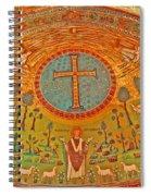 Byzantine Mosaic Spiral Notebook