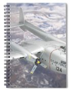 C-119 Flying Boxcar Spiral Notebook
