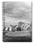 C-47-w7 7d06b Spiral Notebook