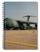 C-5 On Taxi Spiral Notebook